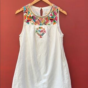 Madewell x JM Drygoods Embroidered Paloma Dress